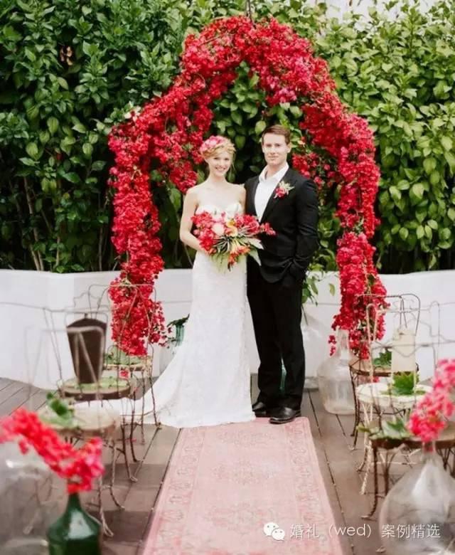唯美温暖的仪式花亭,梦中的婚礼就长这样!